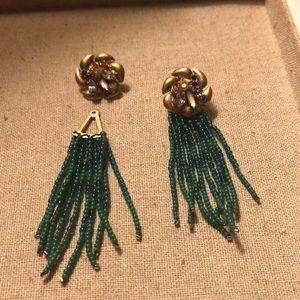 Lilian fringe earrings